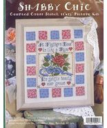 Shabby A Mother's Love Chic Cross Stitch Kit - $14.00