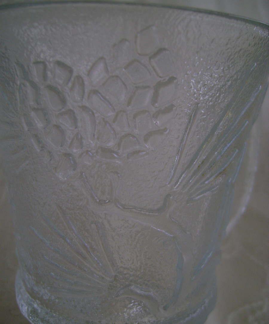 Tiara Crystal Mug, Ponderosa Pine Pattern Indiana Glass