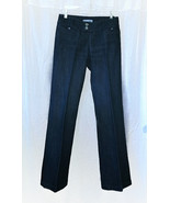 """Womens CHICO'S Platinum Blue Jeans  28x32"""" SIZE 4 Seamed Crease - $6.95"""