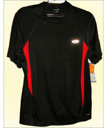 Champion Duo Dry Reflective Running Shirt Size Small Mint with Tag - $7.95