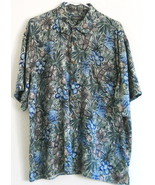 "VAN HEUSEN SILK SHIRT  SIZE LARGE  CHEST 51"" LENGTH 32"" - $5.00"