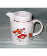 ROYAL DOULTON  Poppy Fieldflower Creamer Lambeth Stoneware Dinnerware - $8.00