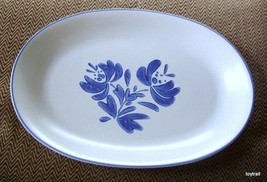 Vintage Pfaltzgraff Yorktowne Platter 14 Inches Long - $14.95
