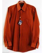Mens Stacy Adams Hidden Buttons Dress Shirt Size 15 1/2 Mint with Tag - $9.95