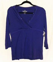FADED GLORY Knit Top Size Medium 8-10 with Factory Tag - $9.95