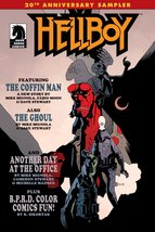 Hellboy 20th Anniversary Sampler Promo Comic Book Mike Mignola NEW - 2014 - $6.95