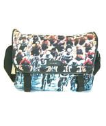 J-3892993 New Paul Smith Cyclist Leather Trim Messenger Nylon Shoulder Bag - $305.55