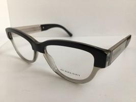 New BURBERRY B 0822 5835 53mm Black Clear Cats Eye Rx Women's Eyeglasses... - $129.99