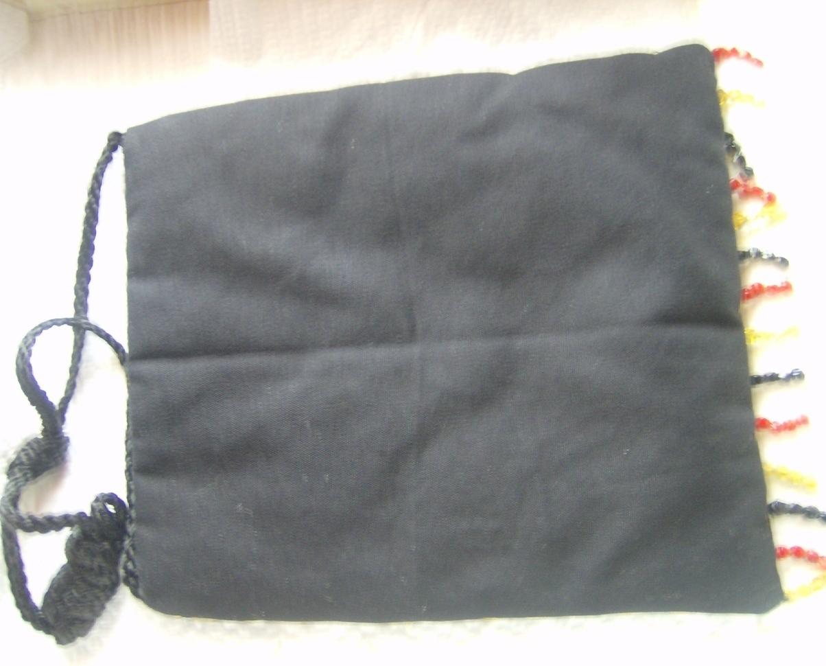Chicos Shoulder Bag Gold Elephants Red Black