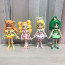 Pretty Cure Precure Figure Doll 4 Body set Used - $101.99