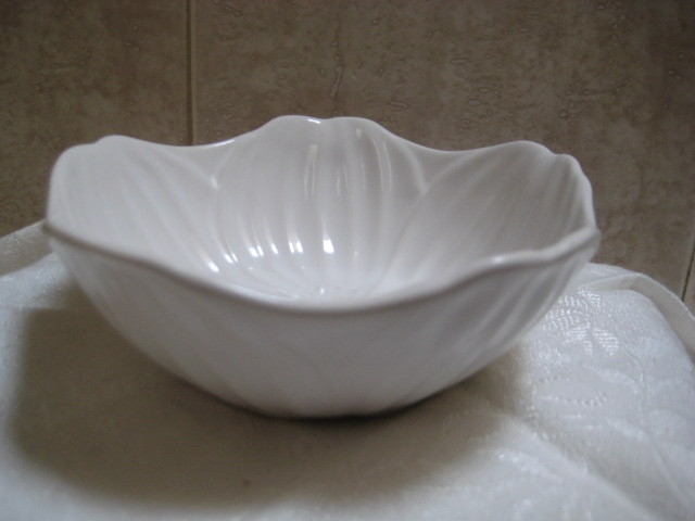Vintage Art Pottery Flower Bowl - Scandinavian art pottery