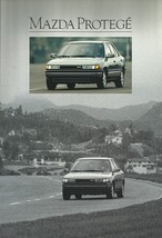 1990 Mazda PROTEGE sales brochure catalog US 90 LX SE 4WD 323 - $6.00