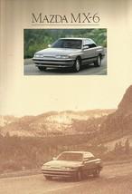 1990 Mazda MX-6 sales brochure catalog US 90 DX LX GT 4WS - $8.00