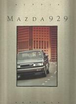 1991 Mazda 929 sales brochure catalog US 91 V6 S - $8.00