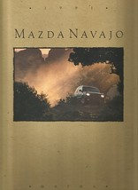 1991 Mazda NAVAJO sales brochure catalog US 91 LX Explorer - $8.00