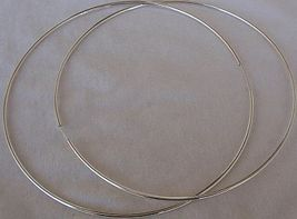 Huge hoop earrings thumb200