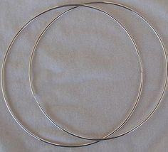 Huge hoop earrings 1 thumb200