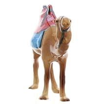 Hagen-Renaker Specialties Ceramic Nativity Figurine Saddled Camel with Blanket image 3
