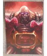 Teenage Mutant Ninja Turtles Krang Glossy Print 11 x 17 In Hard Plastic ... - $24.99