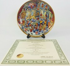 Franklin Mint Plate Bill Bell 1st Issue Holy Cats Limited Edition Collec... - $59.39