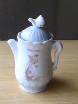 1995 Precious Moments Marjoram Teapot Spice Jar  - $13.00