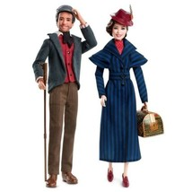 2018 Barbie Disney Mary Poppins Returns & Jack the Jack the Lamplighter ... - $103.54