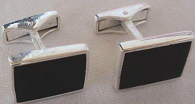 Black I 1 CufflinksBeautiful cufflinks