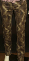 Express gold glitter styled jeans - $29.70