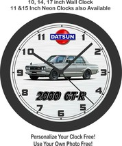 Datsun 2000-GT-R Skyline Wall Clock-Free US Ship-Nissan, Toyota, Honda - $30.68+