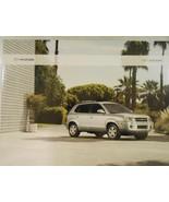2007 Hyundai Tucson Original Color Brochure - $8.00