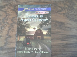 Danger in Amish Country By Marta Perry (2013 Paperback) - $2.00