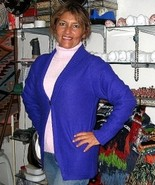 Cardigan and sweater combination made of Alpaca wool  - $128.00