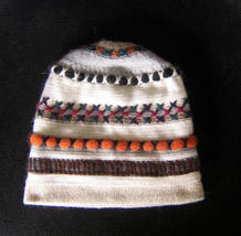 Knitted wool hat,cap made with soft alpacawool - $26.00