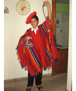 Folkloric ethnic dance costume from Peru, Valicha - $187.00