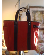 COACH TOTE BAG BRAND NEW WITH TAGS IN BURNT DEEP ORANGE - $169.00