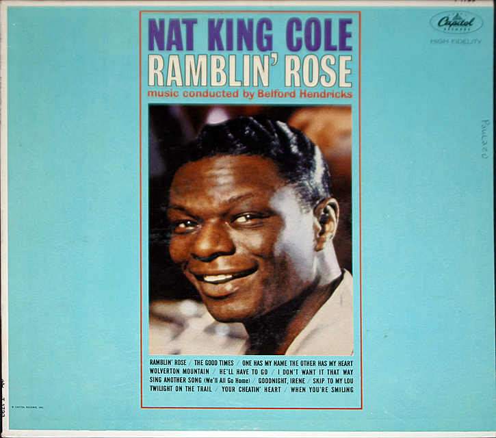 Nat king cole  rambln rose cover