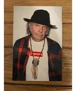 SUPREME NYC Sticker Box Logo Neil Young Photo 2015 - $34.65