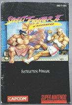 Street Fighter 2 Turbo Super Nintendo SNES Instruction Manual Only - $4.50