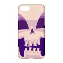 Human Skull Printed Lightweight Plastic Hardshell Case Cover for Apple i... - $19.99