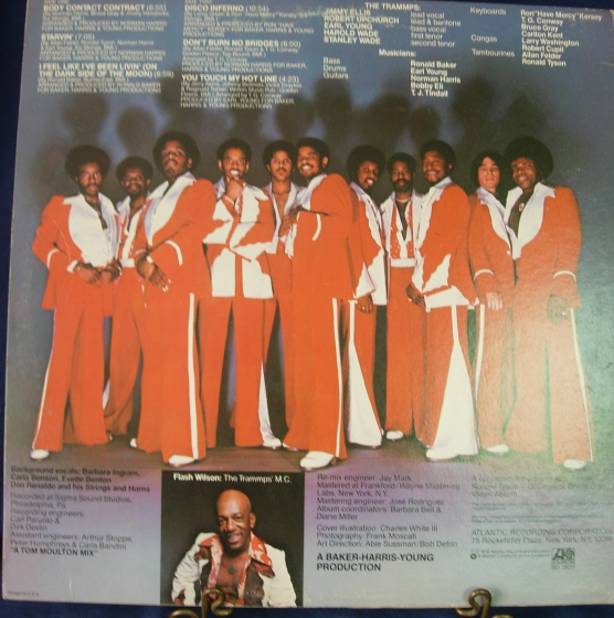 The Trammps - Disco Inferno - Atlantic Records SD 18211