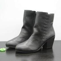 Aerosoles Heelrest Vitality Women's Black Leather Ankle Boots Size 8 M - $75.19