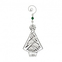 Waterford Crystal 2015 Annual Christmas Tree ornament New In Box #40005048 - $57.42