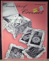 Star Book Treasure Chest of Crochet no.45 - Doily, Basket, Afghan, Place... - $7.43