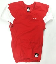 Nike Performance Mach Speed Football Game Jersey Men's XL Red White 7899... - $45.53