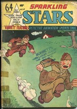 Sparkling Stars #8 1945-Holyokke-Hells Angels-WWII photos-rare-FR/GOOD - $45.40