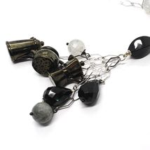 Silver necklace 925, Onyx, Mocha, Coffee Maker, Teapot, Pendants, Quartz Ruti... image 4