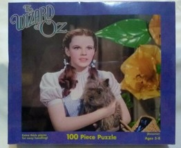 Wizard Of Oz Judy Garland Dorothy & Toto 100 Piece Puzzle Factory Sealed New - $18.14