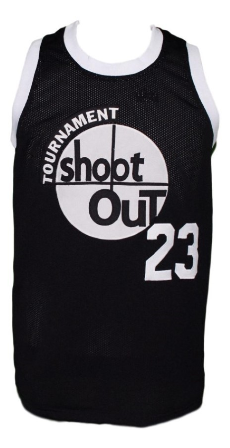 Birdie  23 above the rim tournament shoot out basketball jersey black   1