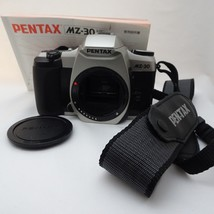 Pentax MZ-30 35mm SLR Film Camera Body w/ Pentax Strap Excellent+++++ - $29.99