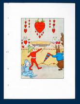 Valentines Party Wee Folk Bunny Rabbits Love To Party Mid 1930s Children... - $18.90